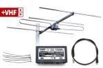 Zestaw +VHF zanteną VHF izwrotnicą
