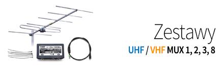 Zesatwy antenowy UHF, VHF