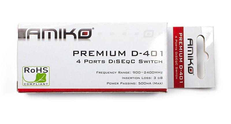 Amiko Premium D-401 - pudełko